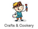 Arts, Crafts and Cookery